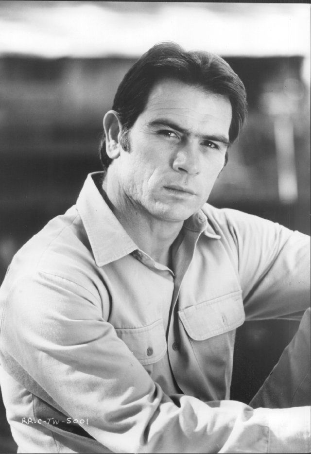 One of my favorite actors, Tommy Lee Jones, in his earlier years.