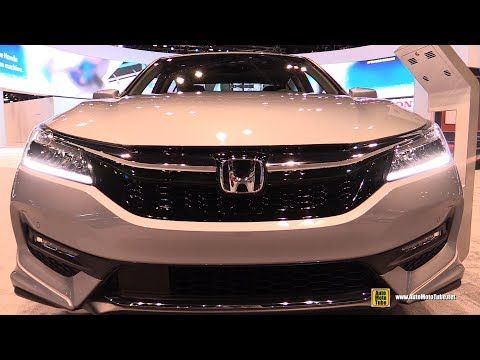 2017 Honda Accord Touring V6 - Exterior and Interior Walkaround - 2017 C... | Sports and Cars News