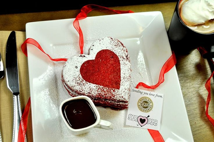red valentine pancake recipe