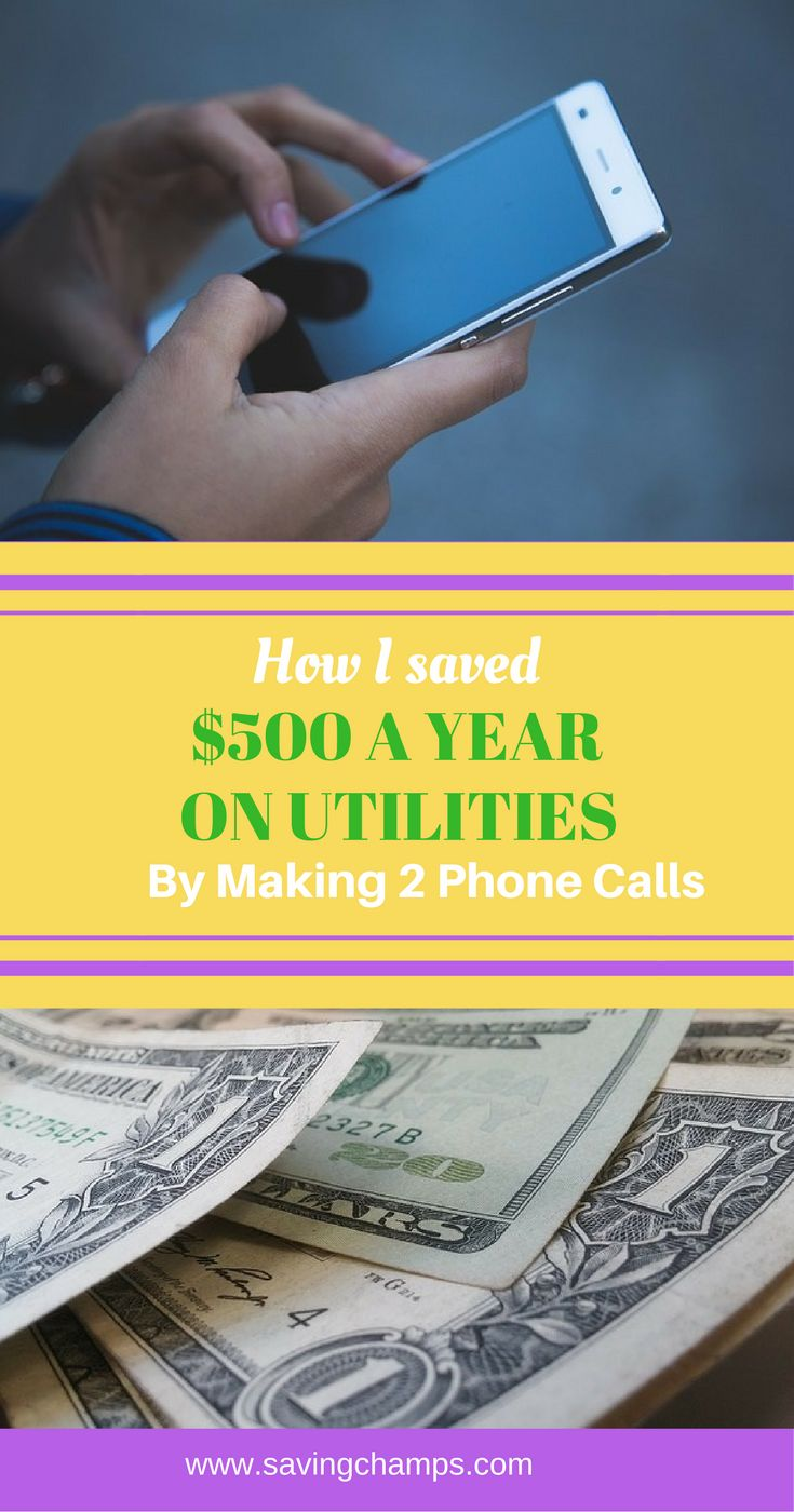 How to save money on utilities by calling the utility companies to negotiate the price. Ideas on how to save money on electricity and Internet, reduce spending, and live a frugal lifestyle.