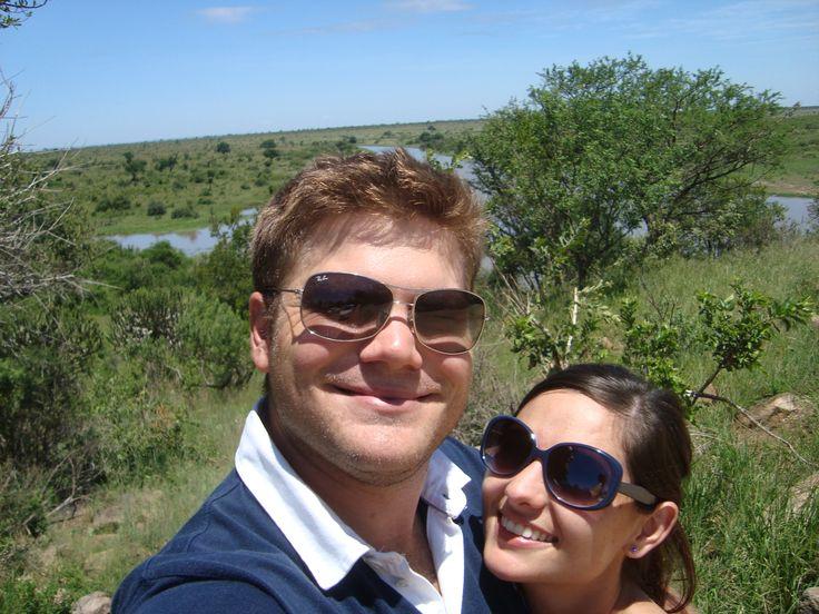 #Safarisoulmates since day one! Having brunch at Nhlanguleni Picnic Site, Kruger National Park!