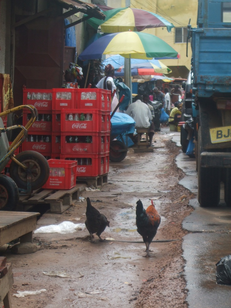 Serekunda Market Gàmbia