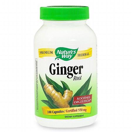 GNC Herbal Plus® Ginger Root 550 mg - GNC HERBAL PLUS FORMULA -