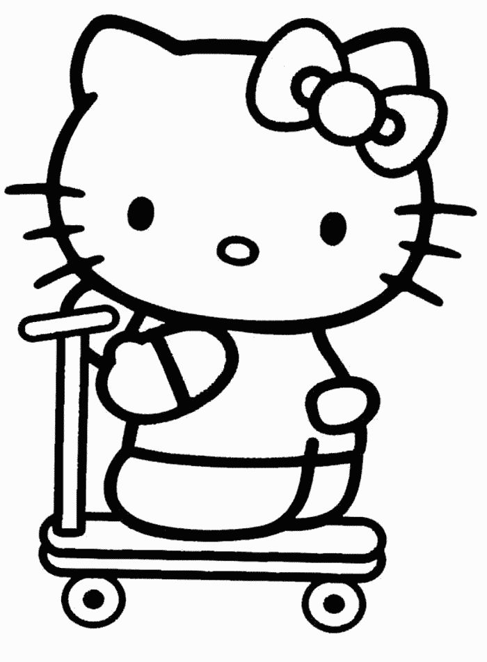 133 best Hello Kitty Coloring Pages images on Pinterest  Hello