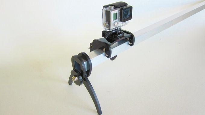 Slider lapse motorized gopro timelapse slider kickstarter for Motorized camera slider timelapse