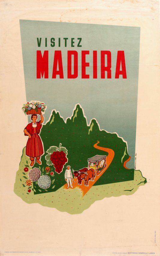 Visitez Madeira - 1955 -