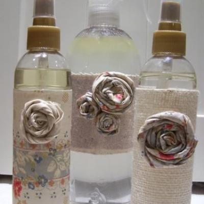 Homemade scented room spray