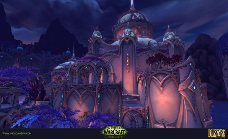 ArtStation - Suramar - Court of Stars Dungeon, Shem Dawson