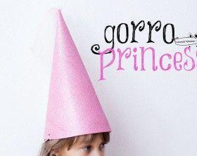 Gorro de princesa en goma eva