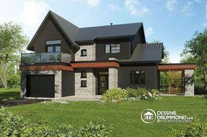 Alternative Maison saine permettant des panneaux solaires sur le toit, 2 terrasses, petite serre extérieur, 3 à 4 chambres - Azalée