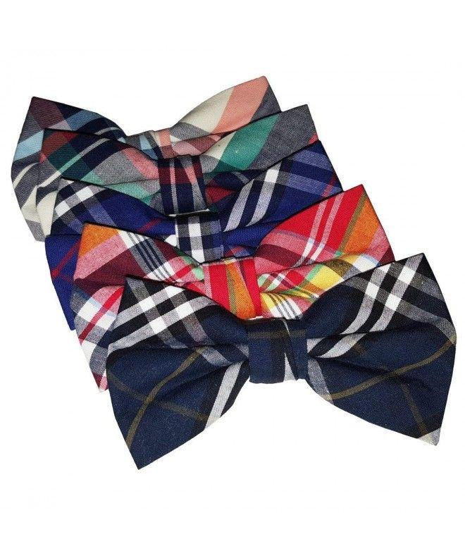 PenSee Mens Stripes Pre-tied Bow Tie /& Hankerchief /& Cummerbund Set-Various Colors