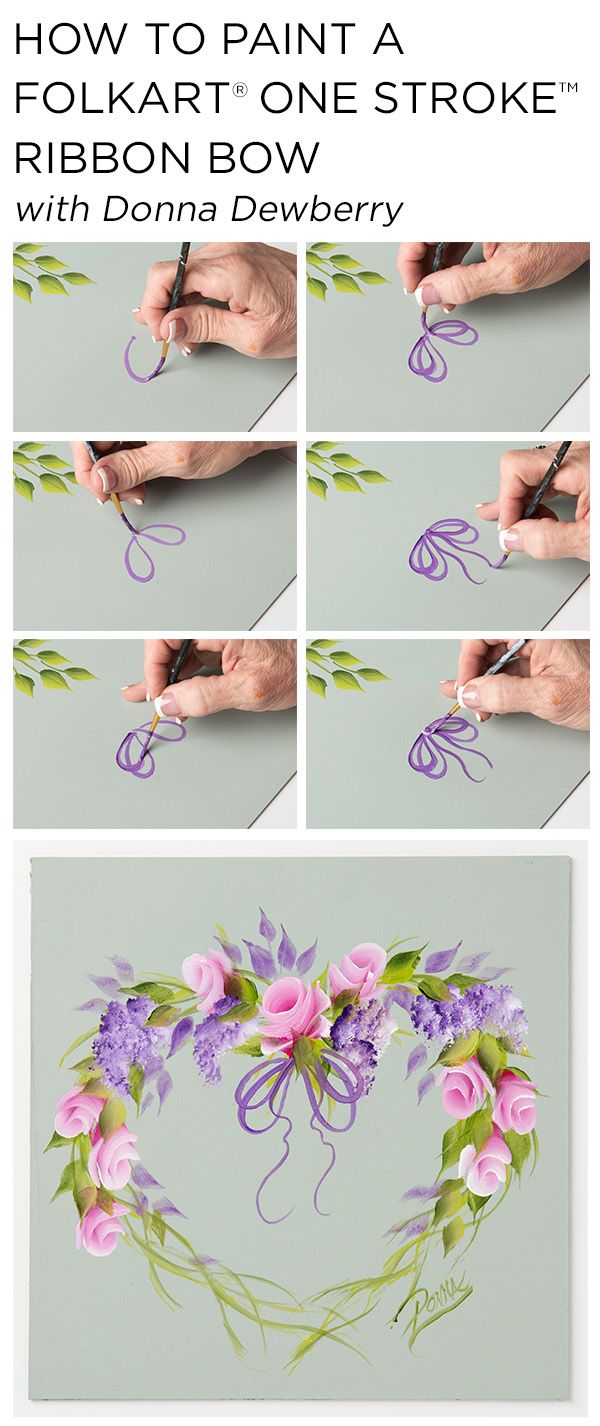 Best 25 one stroke painting ideas on pinterest painting flowers learn how to paint a beautiful rosebud wreath using a small palette of folkart multi dhlflorist Image collections
