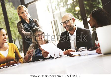 Business People Meeting Corporate Communication Teamwork Concept