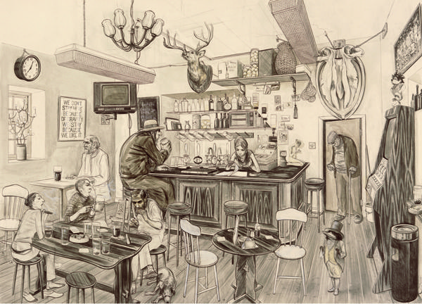 Untitled (Heidless Macgregor's Bar), Charles Avery