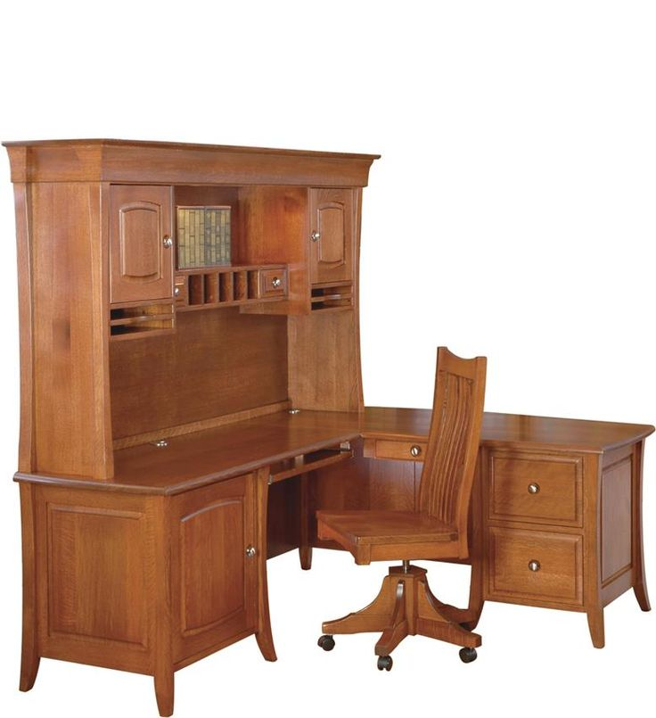 Amish Computer Secretary Desk Armoire Modesto Solid Wood: 20 Best Amish Cherry Barrister Bookcases Images On