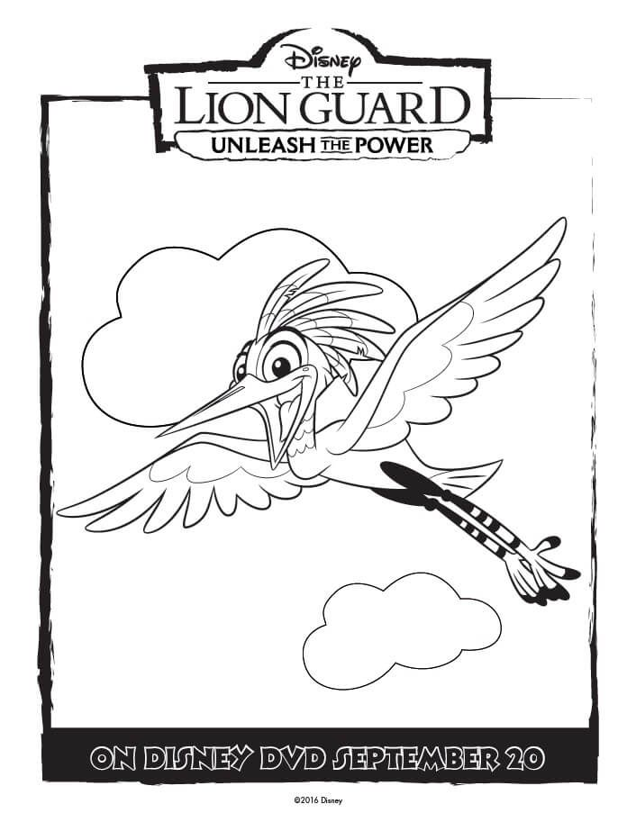 Unleash The Power With These Great Lion Guard Coloring Pages And Activity Page Full Kids ColoringColoring SheetsFree Printable