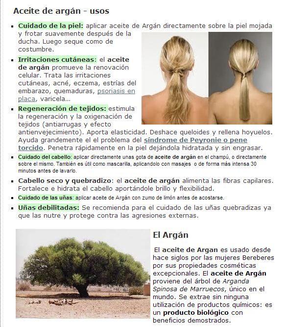 usos y beneficios del aceite de Argan para la salud y la belleza para realizar pedidos del mismo realizarlos a calvopicon@gmail.com cronicadetanger@gmail.com