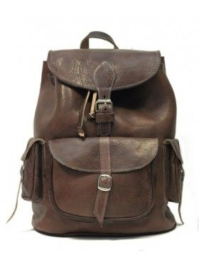 My Green Bag The Coco Leather Backpack. Buy @ http://thehubmarketplace.com/The-Coco-Leather-Backpack