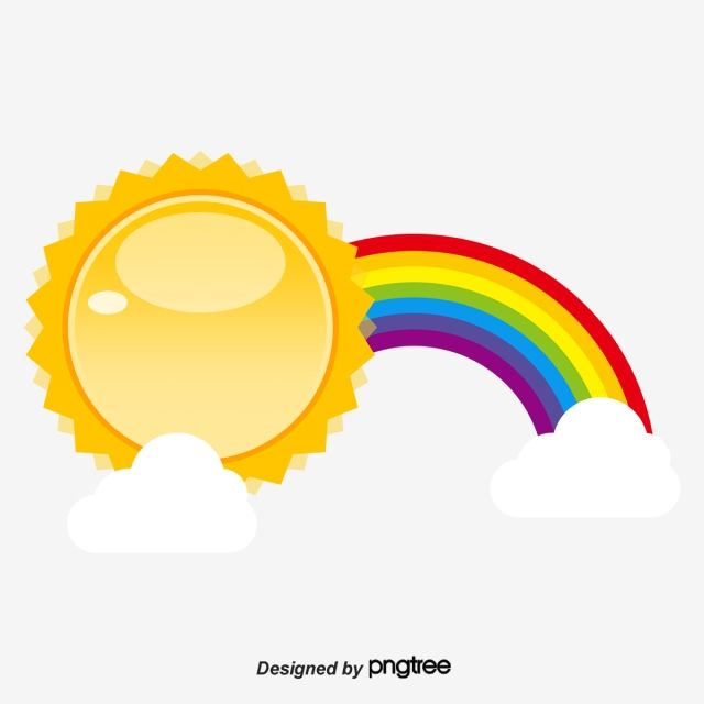 Sun Clouds Sun Clouds Sun Vector Png Transparent Clipart Image And Psd File For Free Download Rainbow Clipart Rainbow Cartoon Cloud Vector