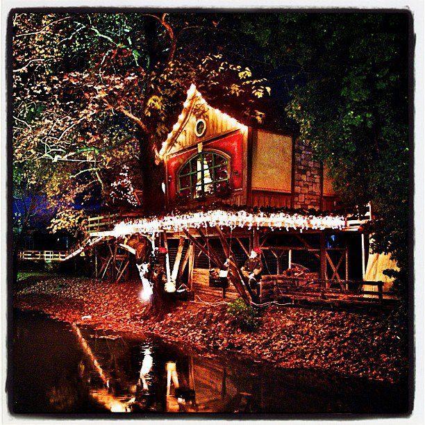Christmas Fairytaleland at Palios Mylos of Matsopoulo - Trikala - Greece