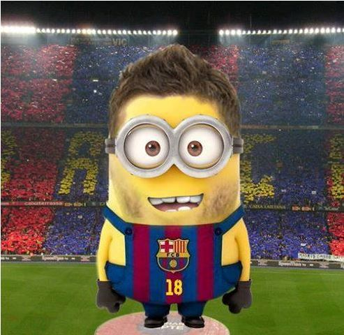 Lionel Messi Minion... 2 of my favorite things!