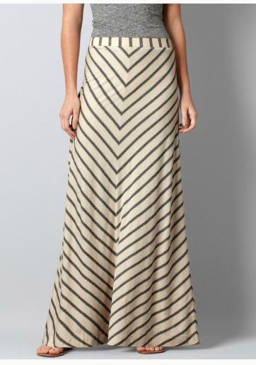 Stripe Jersey Maxi Skirt @LOFTSummerGetaway