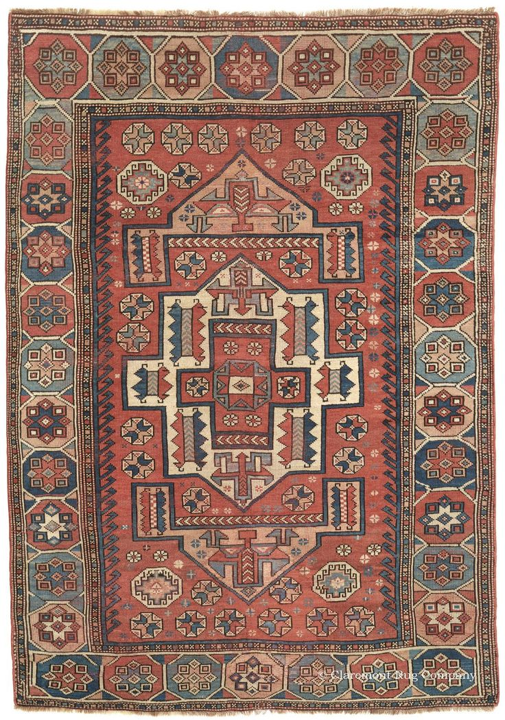 Turkish Bergama, 5ft 1in x 7ft 5in, Circa 1825. Famous for the inimitable deep…