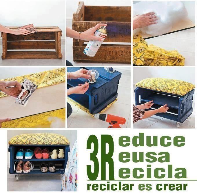 REduce, REusa y REcicla