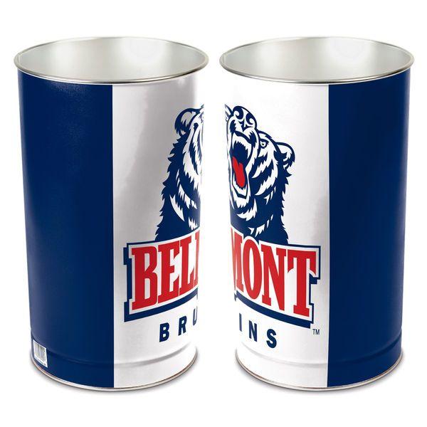 Wincraft Belmont Bruins Tier Wastebasket - White/Navy Blue - $9.99