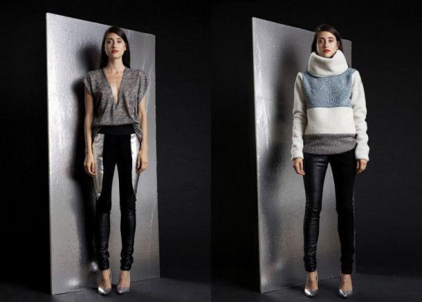 Tendance AH1415: Sportswear Chic #ah1415 #tendance #sportswear #chic #mdeqc #jaxnjoe #colorblocking JaxNJoe Legging 250$ Sweater 350$