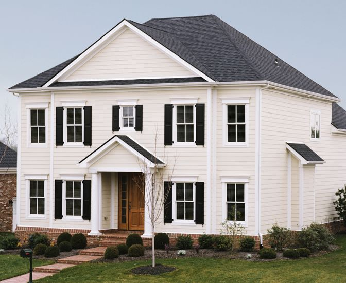 17 best images about home exteriors on pinterest siding for Classic house vinyl