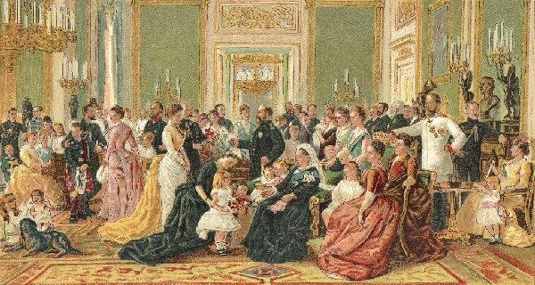 Queen Victoria Royal Family  Laurits Regnes Tuxen