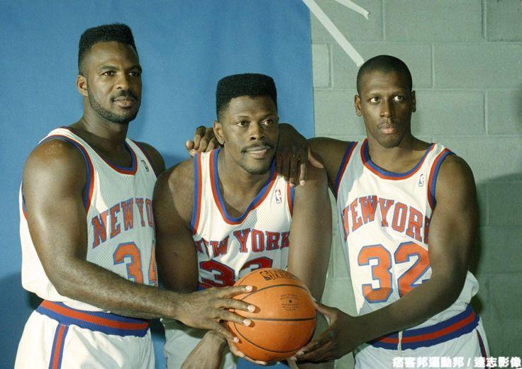 New York Knicks: Charles Oakley, Patrick Ewing, Xavier McDaniel - my favorite Knicks frontcourt