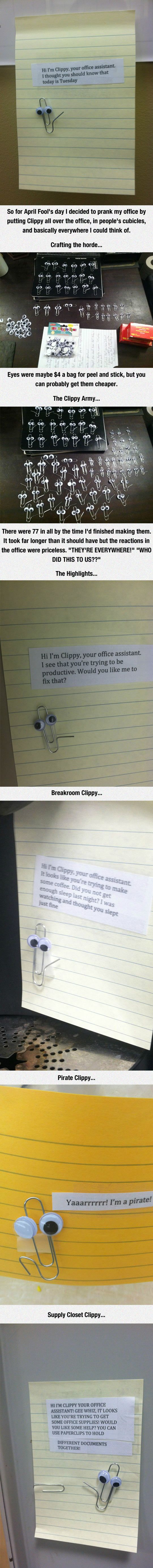 OMG CLIPPY!! This is brilliant.