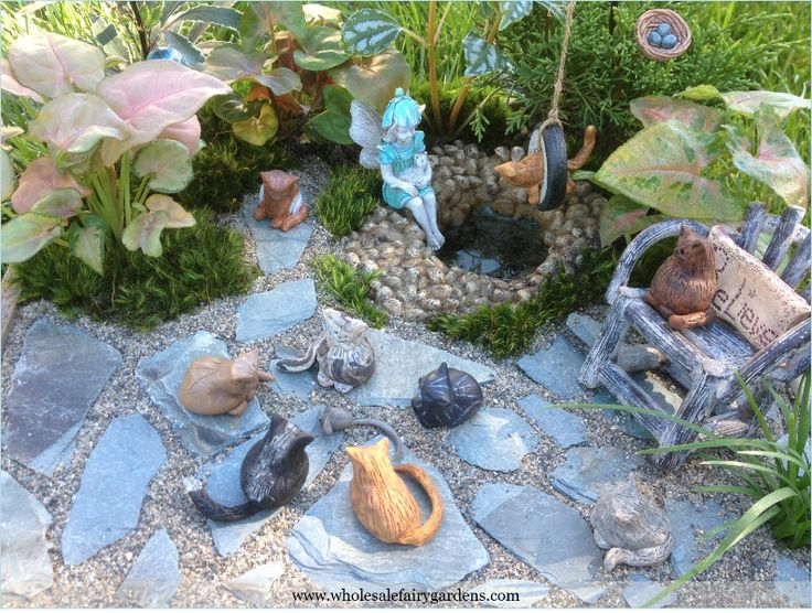 Pictures Of Fairy Gardens | Show As Slideshow]