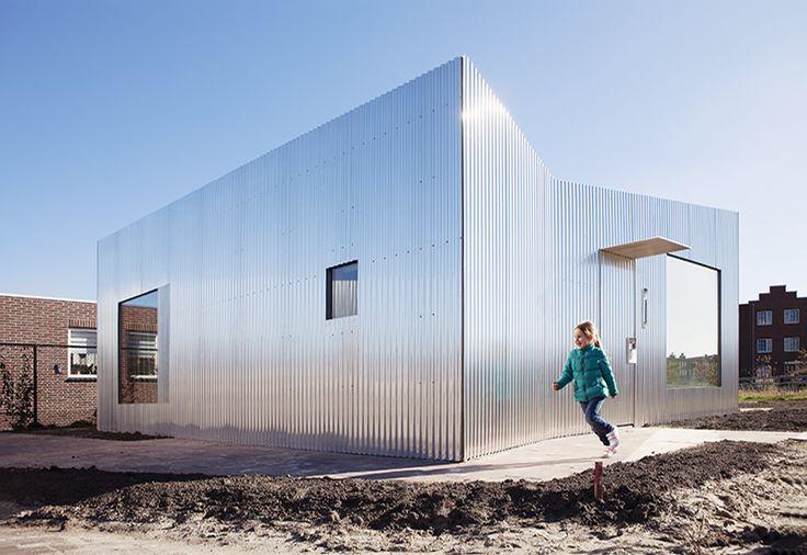 Rebel House | Metal Facade | Villa | Architecture | Atelier van Wengerden