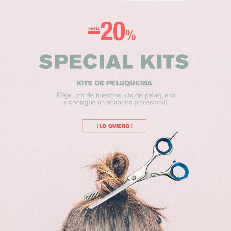 Descubre nuestros KITS ESPECIALES de PELUQUERÍA --> HASTA UN 20 % de dto.  #calenduladistri #peluquería #expertosenpeluquería