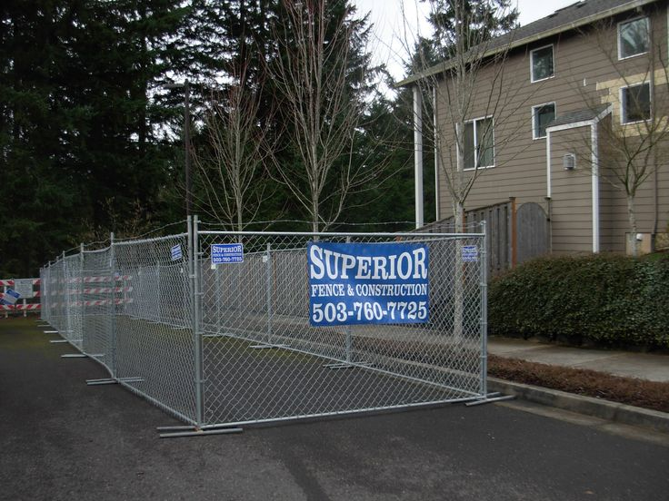 10 Best Chain Link Temporary Fence Images On Pinterest