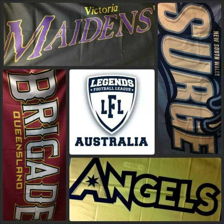 17 Best images about LFL Australia Teams on Pinterest