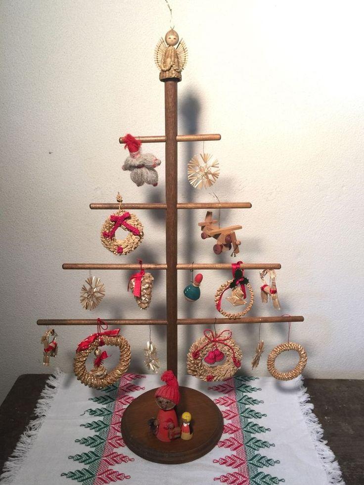 Swedish Straw Christmas Decorations