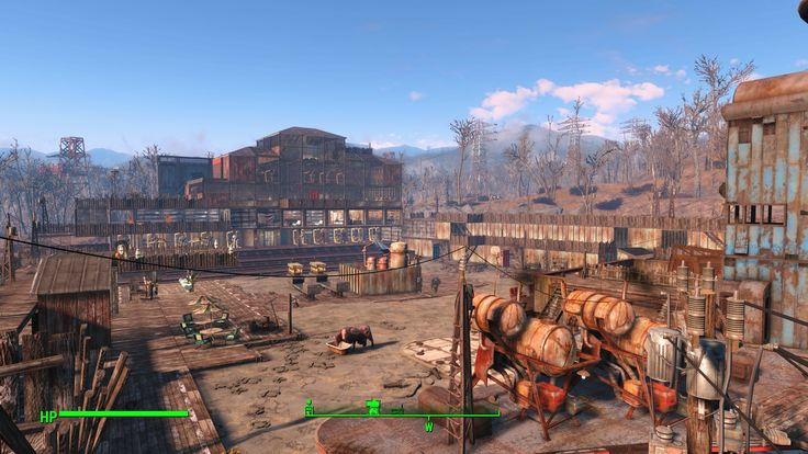 I'm very proud of my 'Xanadu' Settlement! (Drive-in theatre no mods) #Fallout4 #gaming #Fallout #Bethesda #games #PS4share #PS4 #FO4
