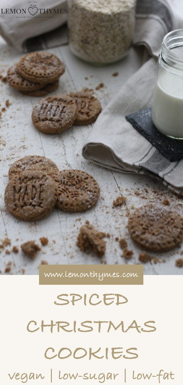 Spiced Christmas Cookies Recipe Vegan Cookies Bars Food