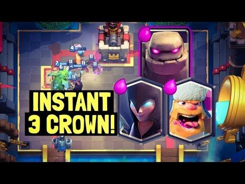 Golem Night Witch Deck for MASTER 1 on Ladder in Clash Royale! Hey guys today I'm going to be showing you the golem night witch deck that got me to master 1 last season pushing on ladder. It is a golem night witch lumberjack deck that still has the elixir collector in it despite the recent nerf that it received. I think that the elixir collector and golem beatdown decks are still very strong in the current meta on ladder. This is a golem lumberjack deck and a golem night witch deck also…