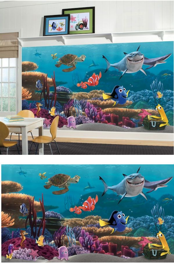 Finding Nemo Xl Mural Wall Sticker Mural Decal Designs At Wall Sticker Outlet