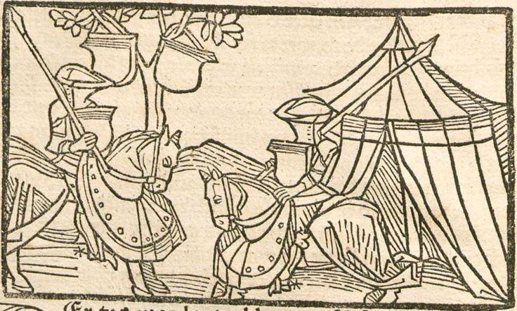 Eleonore <Österreich, Erzherzogin>: Pontus und Sidonia Augsburg, 1485 Ink E-47 - GW 12720 Folio 71