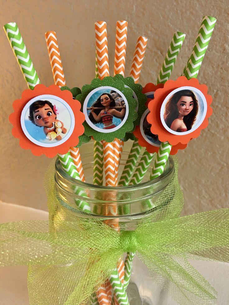 A personal favorite from my Etsy shop https://www.etsy.com/listing/523484304/moana-party-straws-disney-princess-moana