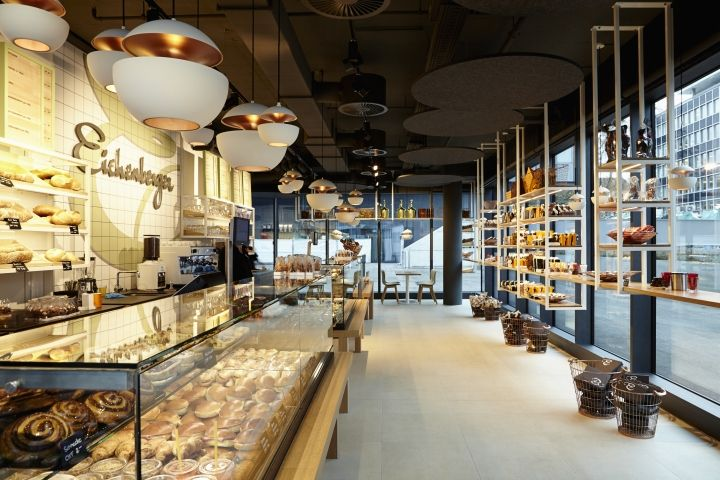 Confiserie Eichenberger PostParc by dioma, Bern - Switzerland. Visit City Lighting Products! https://www.linkedin.com/company/city-lighting-products