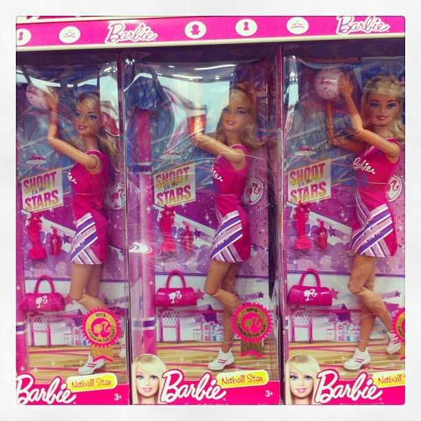 Have you seen Barbie Netball Star at Target yet?