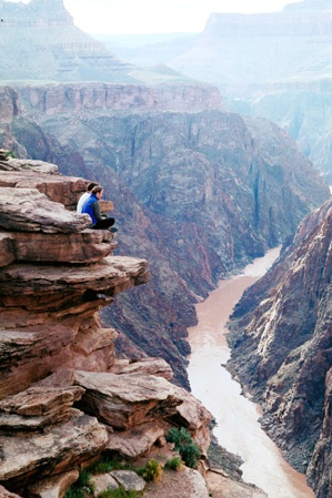 Grand Canyon Hiking Photo Gallery | Away.com  Colorado River below.>>>ew517: Canyon Hiking, Colorado River, Photo Gallery, National Parks, Photo Galleries, Hiking Photo, Grand Canyon, Canyon National