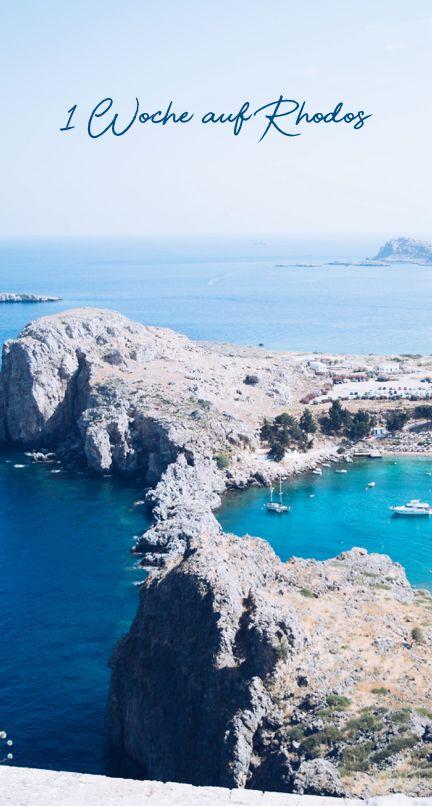 Travel Rhodos / Greece Tipps and Highlights / Reisebericht und Reisetipps